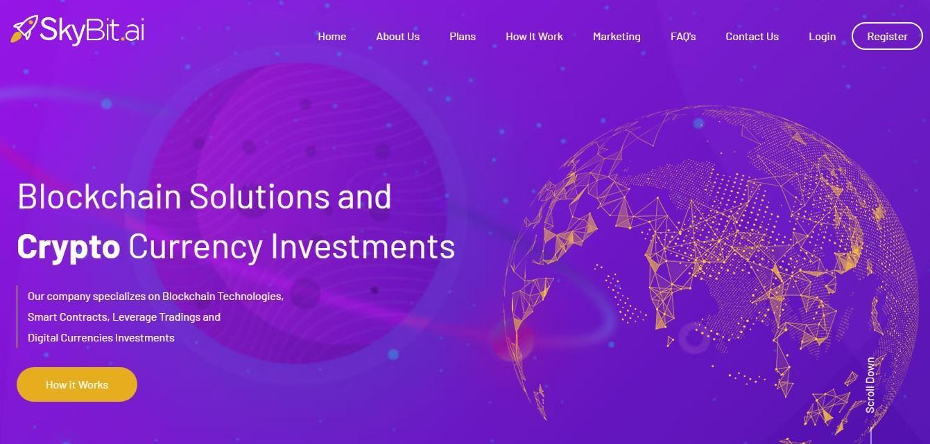 SkyBit - платформа для получения прибыли