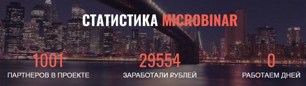 Статистика MicroBinar