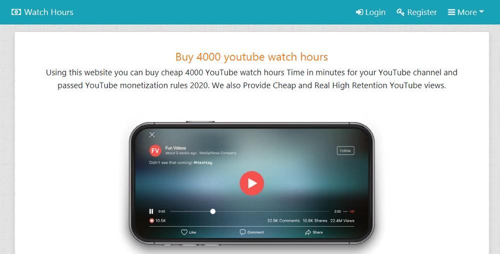 Watch Hours - платит за просмотр видео в долларах на Payeer