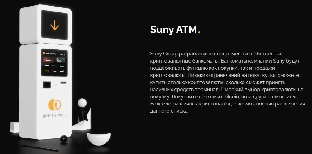 Suny банкоматы