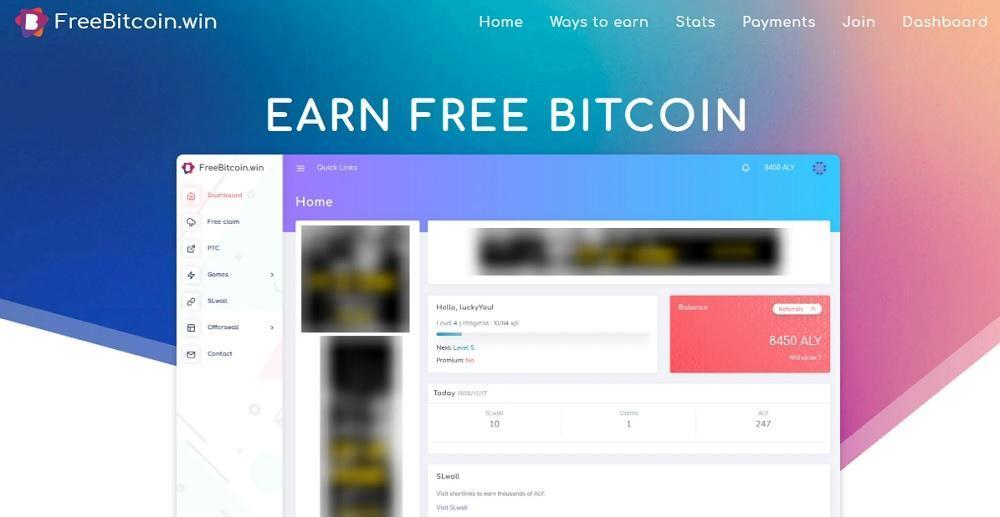 Earn Free Bitcoin (freebitcoin.win) - стоящий кран по добыче сатоши или развод? Какие отзывы?