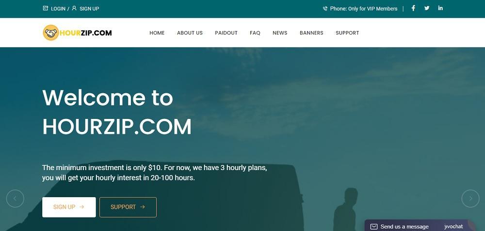 Hour Zip (hourzip.com) - одна из лучших инвестиционных компаний в онлайне или развод? Какие отзывы?