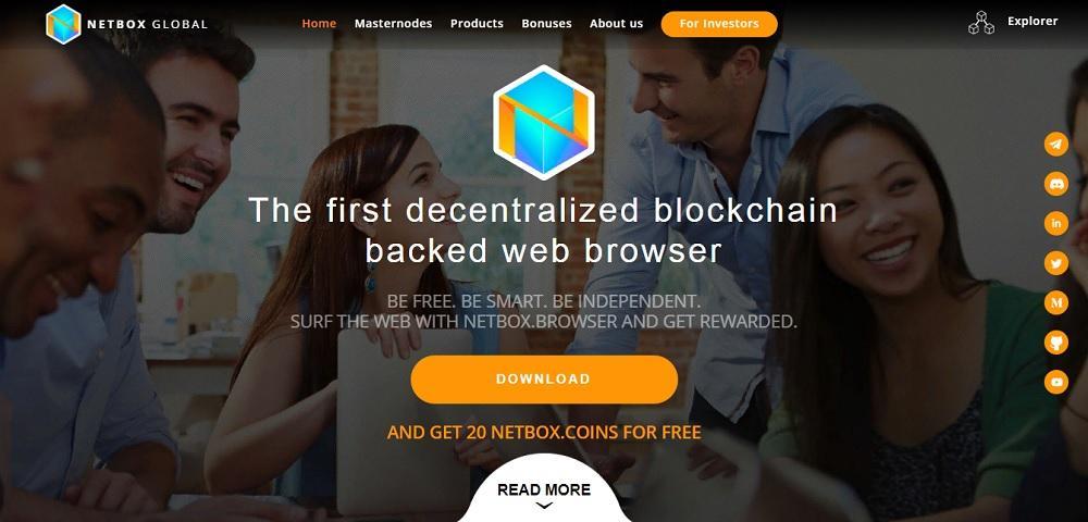 Netbox (netbox.global) - браузер с оплатой за серфинг [не рекомендую]
